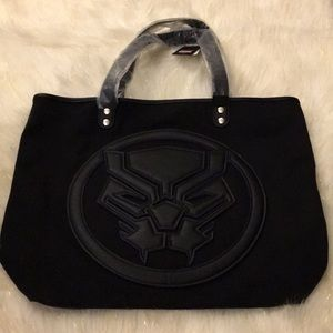 Loungefly Marvel Black Panther Tote NWT
